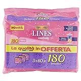 Lines Intervallo Ripiegato Proteggislip - 180 Pezzi