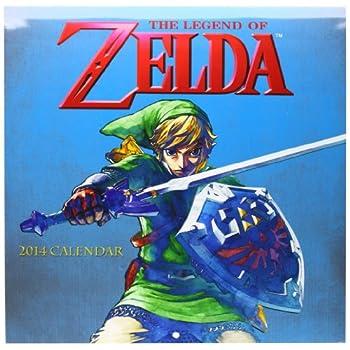 The Legend of Zelda 2014 Calendar