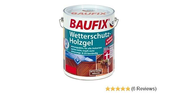 Baufix Wetterschutz 25L Holzgel Kiefer Amazonde Baumarkt