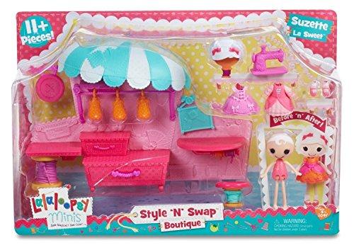 Lalaloopsy Minis - Mix 'n' Match - Boutique Spielset inkl. Lalaloopsy-Minis-Modepuppe (Größe 7cm) [UK Import]