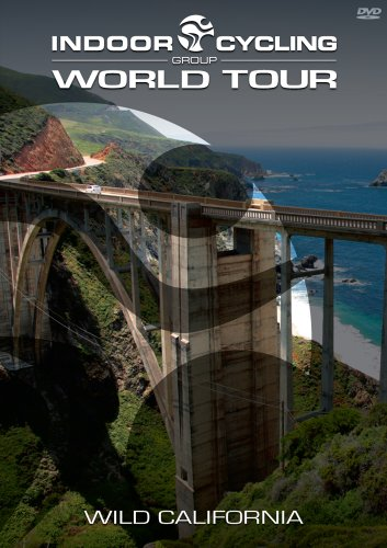 Indoor Cycling Group World Tour Wild California DVD (Dvds Indoor Cycling)