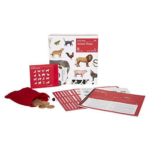 Active Minds Tier-Bingo - Hörbares Geräusche-Bingo Spiel für Senioren mit Demenz / Alzheimer (Sehbehinderte Spielen Karten)