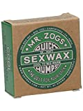 Sex Wax Surf Wax Quick Humps Green Soft Surfwachs