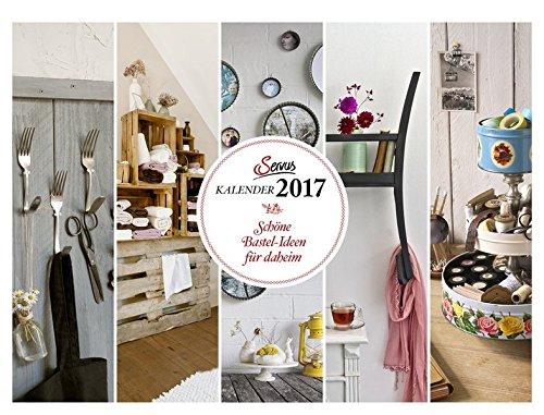 Schöne Bastel-Ideen für daheim 2017: Servus Kalender (Wandkalender)