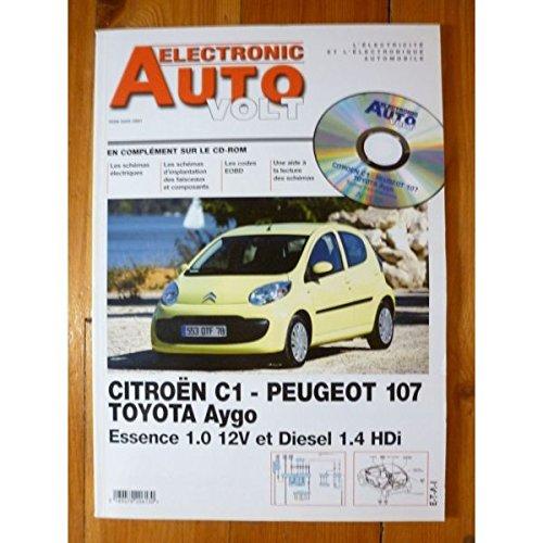 Electronic Auto Volt - C1 107 Aygo Revue Technique Electronic Auto Volt Citroen par E.T.A.I.