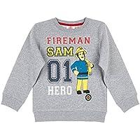 Fireman Sam Boys Sweatshirt - Grey