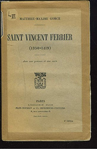 Saint-Vincent Ferrier (1350 - 1419)