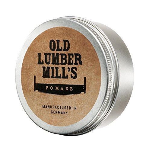 Old Lumber Mill\'s Pomade 150g   Feinste Haarpomade   Frischer Duft nach Zitrone und Menthol