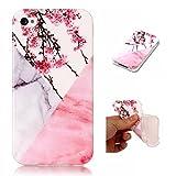 OnlyCase Coque iPhone 4 / iPhone 4S, élégant Motif de Marbre TPU Doux Silicone...