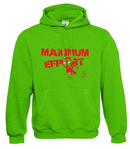 Prism Clothing Co. -  Felpa con cappuccio  - Uomo lime green