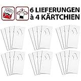 Sautter & Stepper GmbH Schlupfwespen gegen Textilmotten - auf 4 Kärtchen je Lieferung und 6...