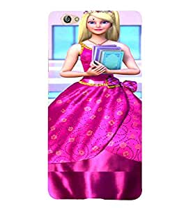 For Gionee S6 Cartoon, Black, Cartoon and Animation, Printed Designer Back Case Cover By CHAPLOOS