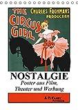 NOSTALGIE Poster aus Film, Theater und Werbung (Tischkalender 2019 DIN A5 hoch): Nostalgische Poster aus der guten alten Zeit (Monatskalender, 14 Seiten ) (CALVENDO Kunst)