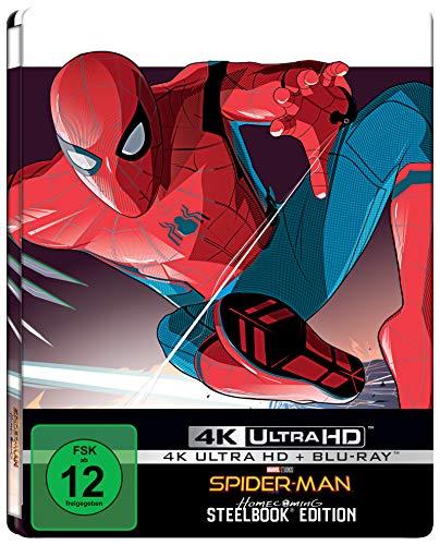 Spider-Man: Homecoming (Steelbook 4k-UHD BD) [Blu-ray]
