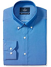 Buttoned Down Men's Tailored Fit non-iron shirt with button-down collar