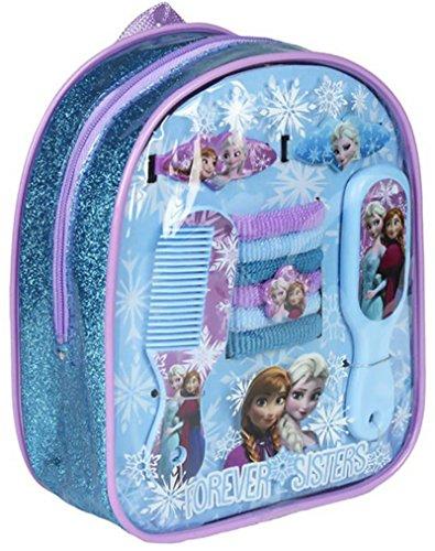 FROZEN - Sac cadeau accessoires Beauté Cheveux 10 pièces La Reine des Neiges Hiver 2015