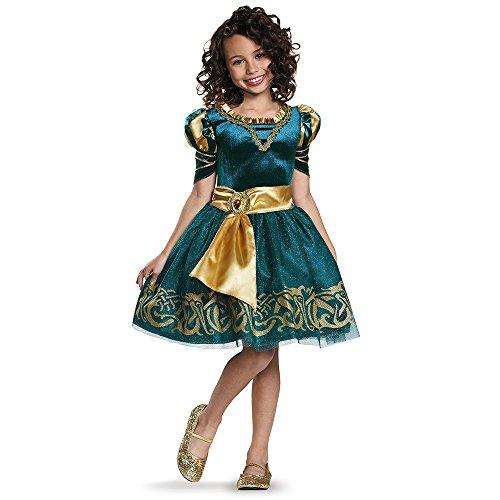 Disguise Merida Classic Disney Princess Brave Disney/Pixar Costume, Small/4-6X by Disguise