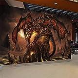 Lzxydbz Wallpaper World of Warcraft feurigen Drachen Spiel Thema Hintergrund