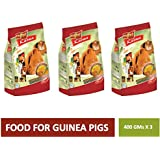 PetSutra Vitapol Karma Food For Guinea Pig, Enriched With Fruits & Vegetables, Contains Natural Fibre (Pack Of 3)