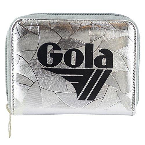 Gola accessori DAVIS METALLIC ABSTRACT silver portafoglio donna ragazza CUB958