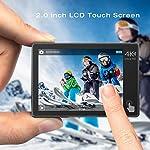 Campark-Action-Cam-4K-WiFi-20MP-Doppio-Schermo-LCD-EIS-Stabilizzazione-con-Telecomando-40M-Impermeabile-Fotocamera-Subacquea-170-Grandangolare-Due-1050mAh-Batterie-e-Il-Kit-Accessori