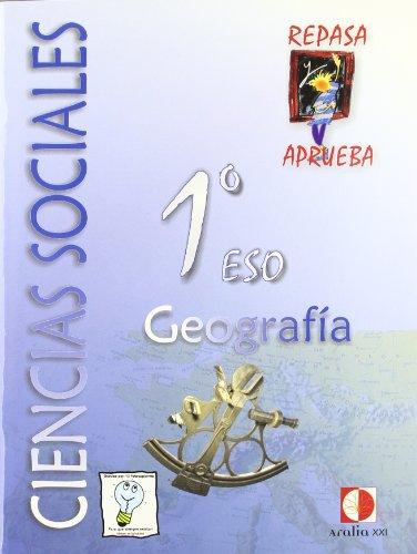 Repasa y aprueba, ciencias sociales, geografía, 1 ESO. Cuaderno