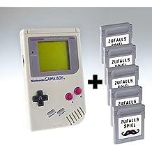 Nintendo Game Boy grau & 5 Zufallsspiele