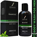Spruce Shave Club Charcoal Body Wash For Men (200ml) For a Deep Body