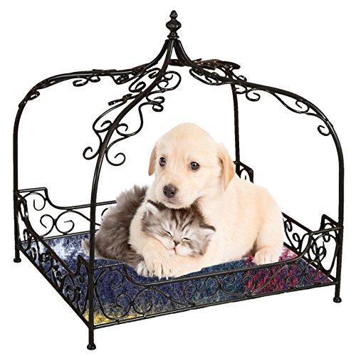 Coucher pour chiens et chats en fer L66xPR55,5xH69 cm