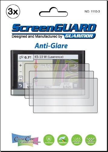 3x Garmin Nuvi 25772577LT 2577lm 2577LMT 12,7cm GPS PREMIUM Anti Glare Fingerprint Matt LCD Screen Protector Cover Guard Shield Schutz Folie Kits (Paket von GUARMOR) Lcd Screen Protector Kit