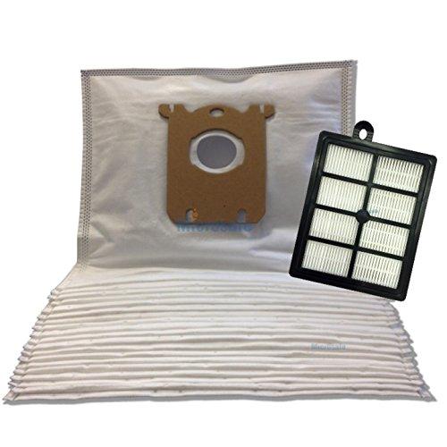 Serie Filter Bag (Vorteils-Set für AEG Serie UltraOne & Serie PowerForce, 20 Staubsaugerbeutel + 1 HEPA Filter - Alternativ zu AEG AUSK9, S-bag 201M, AFS1W)