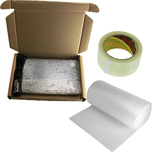 Preisvergleich Produktbild Laptop Versand Post Box 50x 36x 7cm Safe Mail + 3M Luftpolsterfolie + Packband