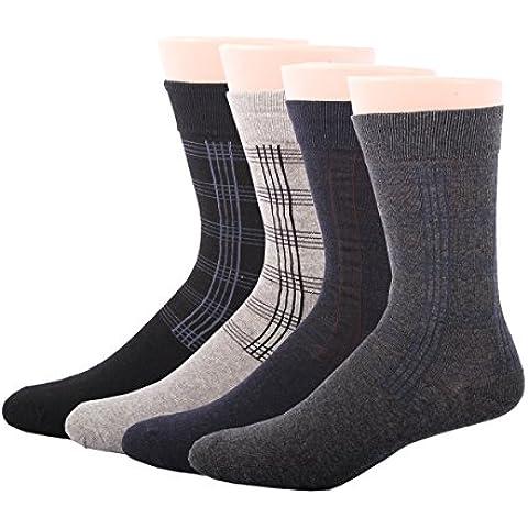 RioRiva Calcetines Cortos Para Hombre Vestir/Casual O Trabajar 100% AlgodóN En Caja Asuntos