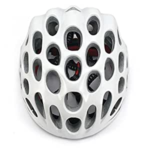 SainStyle Road Racing Cycling Bicycle Bike Helmet with Visor for Adult <Pure White>