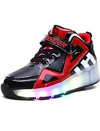 Adingshine Ninos Zapatillas con LED y Ruedas