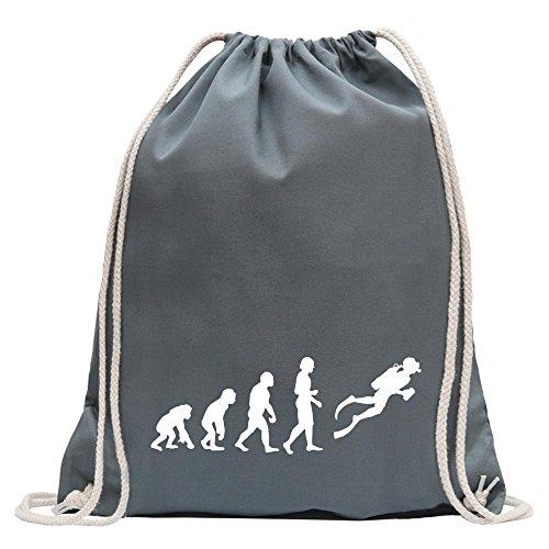 Wasserdicht Turnbeutel Kordelzug Tasche Rucksack für Tauchen Laufen Blau
