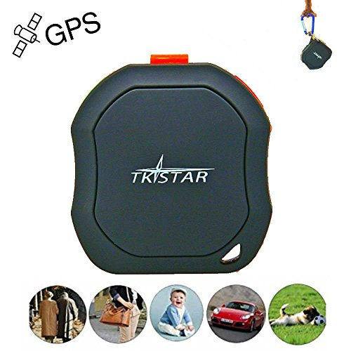 JUNEO TKSTAR Mini GPS in tempo reale Tracker for Kids/Pets/Electronic Fence/SMS promemoria