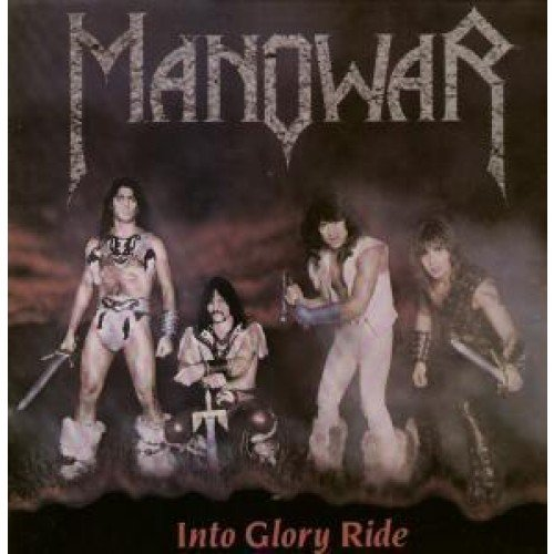 Vinyl Album) UK Mfn 1983 (Manowar-into Glory Ride)