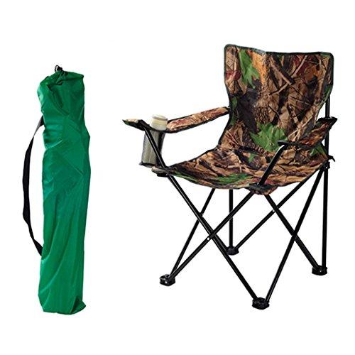 Klappstuhl KKY-Enter Outdoor Tragbare Camo Home Camping Picknick Strand Angeln Stuhl Faltbare Praktische lasttragende 150 kg (größe : L48*W47*H94cm)