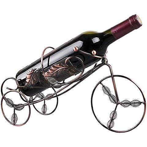 Yifom moda creativa vino vino vino rack cabinet rack ornamenti decorazioni