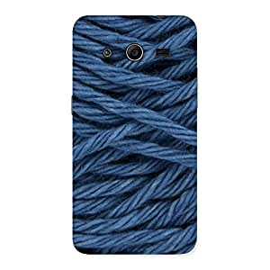 Special Denim Rope Print Back Case Cover for Galaxy Core 2