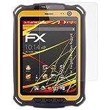 atFolix Schutzfolie kompatibel mit ToughGear Titan Rugged Bildschirmschutzfolie, HD-Entspiegelung FX Folie (2X)