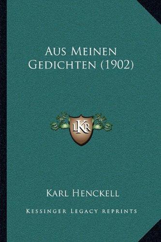 Aus Meinen Gedichten (1902)