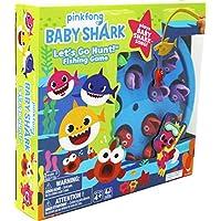 Spin Master- Baby Shark Gone Fishing Game Juego de Pesca, Color Multicolor. (6054916)