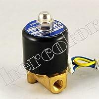 eerel - Elettrovalvola per aria, acqua, gas, olio, 12 V, 0,3 (Tipo Di Gas)