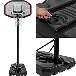 Basketballkorb Mobil Basketballständer Basketball Streetball Korb Ball ✔...
