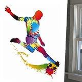 Decals Design 'Color Splash Football Pla...