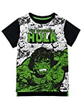 Marvel - Maglietta a Maniche Corta per Ragazzi - L'incredibile Hulk - 5-6 Anni
