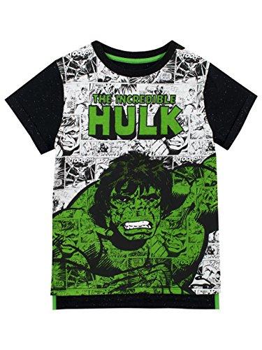 Marvel Jungen der Unglaubliche Hulk T-Shirt 98 (Kinder-hulk)