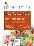 Bütten-Aquarellpapier Hahnemühle, 20 Blatt, 200 g / qm, 24x32cm Matt